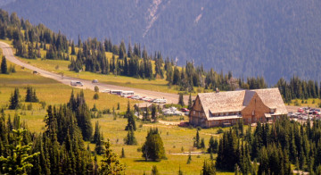 Sunrise Visitor's Center - Mount Rainier National Park