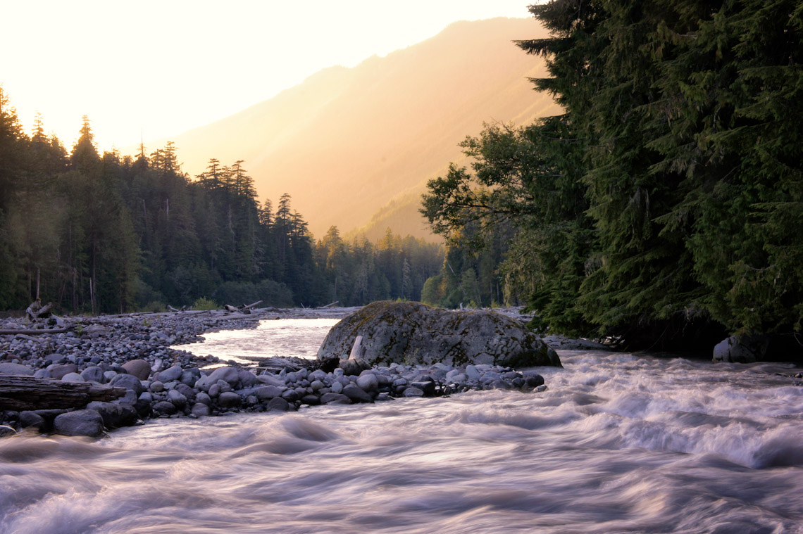 The Carbon River